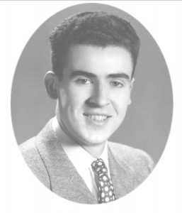 Graduation photo of Ernest M. Ingram, one of the firm's founding partners
